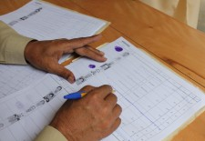 For the first time, 2013 voter lists included photos to prevent stealing of votes. Photo by Adnan Rashid