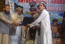 Laptops for Bara students – Nasir Khan Afridi