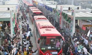 Metro buses to run in all provinces – Nawaz Sharif
